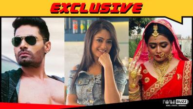 Meer Ali, Rashmi Gupta and Senaya Sharma in &TV's Laal Ishq