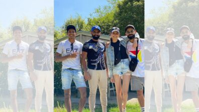 Mohammad Shami's 'just chill' picture with Virat Kohli and Anushka Sharma in New Zealand