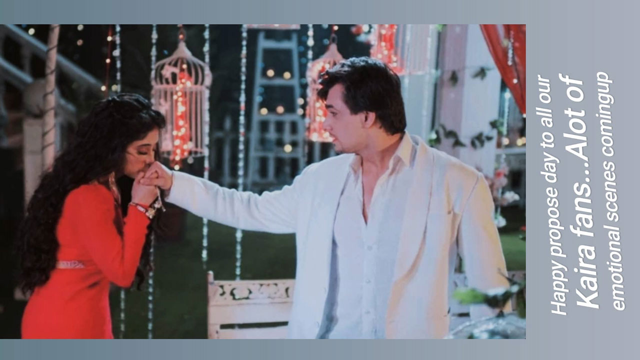 Mohsin Khan's cute proposal for someone special on Propose Day, check out now