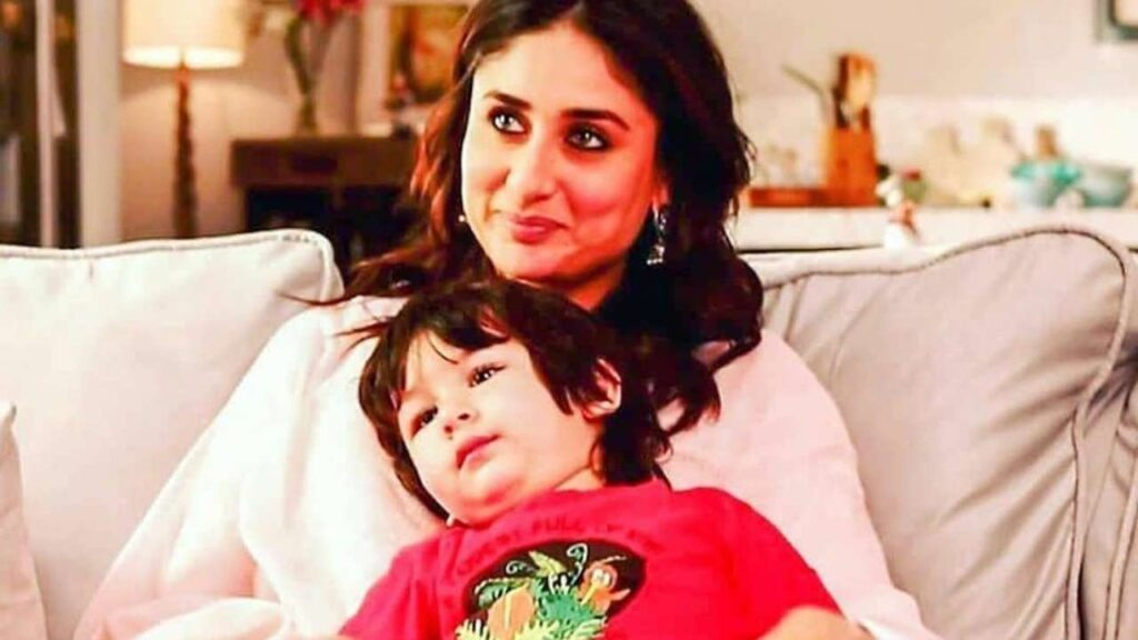 Monochrome Delight: When Kareena Kapoor and Taimur Ali Khan looked ABSOLUTELY ADORABLE hugging each other 2