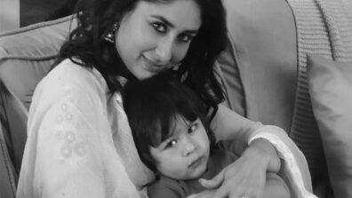 Monochrome Delight: When Kareena Kapoor and Taimur Ali Khan looked ABSOLUTELY ADORABLE hugging each other