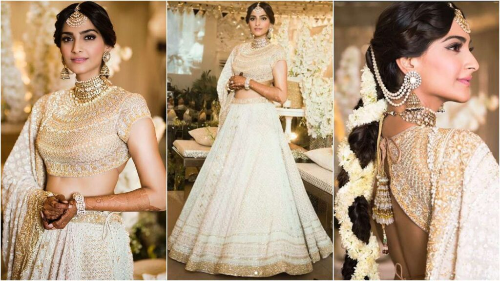 Need inspiration for your wedding? Check out these impressive Sonam Kapoor's Bridal looks 5