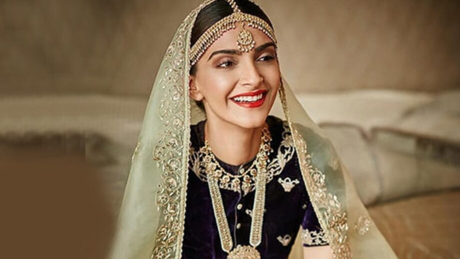 Need inspiration for your wedding? Check out these impressive Sonam Kapoor's Bridal looks