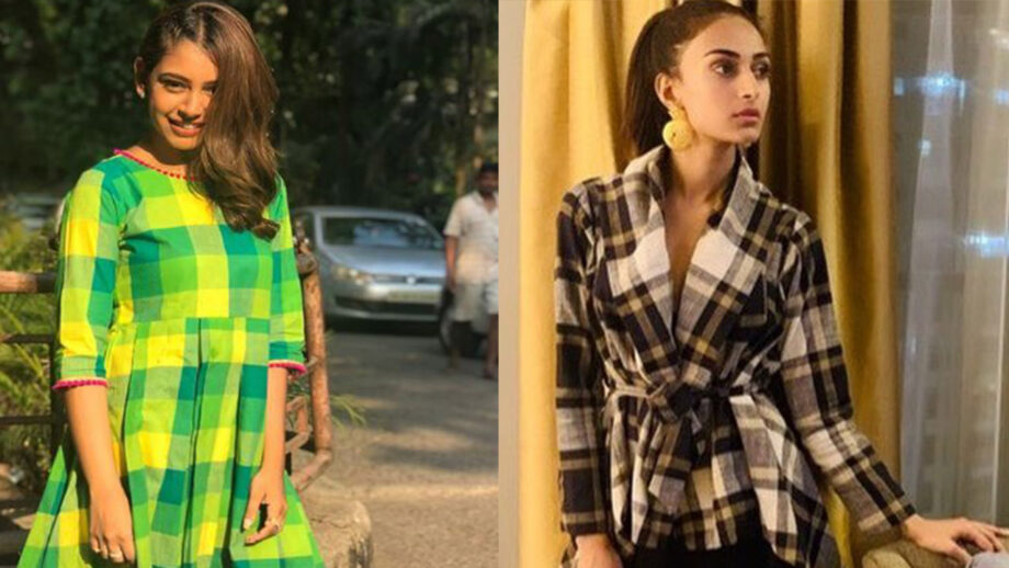 Niti Taylor vs Erica Fernandes: Who stuns in Checkered Dress?