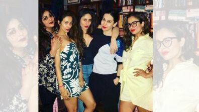 Pictures of Kareena Kapoor, Karisma Kapoor, Amrita Arora, Malaika Arora give us friendship goals 4