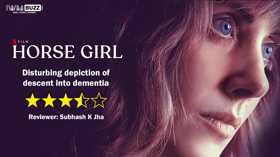Review of Netflix film Horse Girl: Disturbing depiction of descent into dementia
