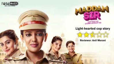 Review of SONY SAB's Madam Sir: Light-hearted cop story 1