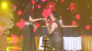 Salaam-E-Ishq: Prince Narula's romantic proposal makes Yuvika Chaudhary blush