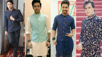 Shaheer Sheikh, Parth Samthaan, Zain Imam, or Mohsin Khan: Who rocked in traditional look?