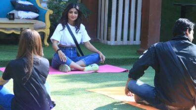 Shilpa Shetty's special 'yoga session' Bigg Boss 13 contestants