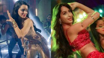 Shraddha Kapoor Vs Nora Fatehi - Who's the HOTTEST dancer?