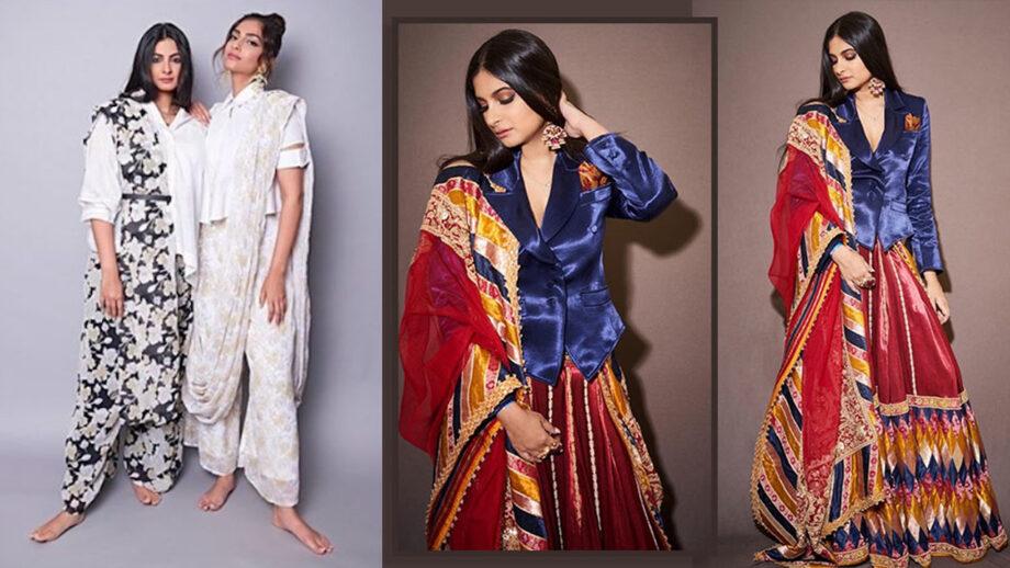 Sonam Kapoor slays beautifully in Rhea Kapoor outfits 8