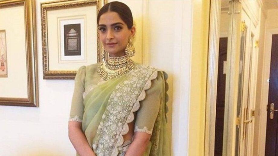 Sonam Kapoor: Top 5 saree looks of the gorgeous actress