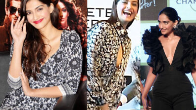 Sonam Kapoor's awkward moments in uncomfortable outfits 4