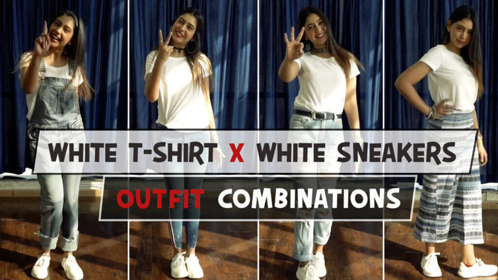 Take tips from Niti Taylor: Amazing hacks to style yourself with a white tee and white sneakers