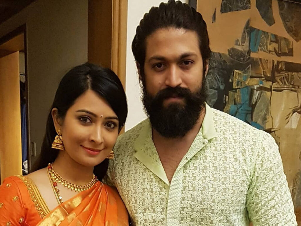 Tollywood couple Yash and Radhika Pandit give major couple goals 1