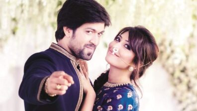Tollywood couple Yash and Radhika Pandit give major couple goals
