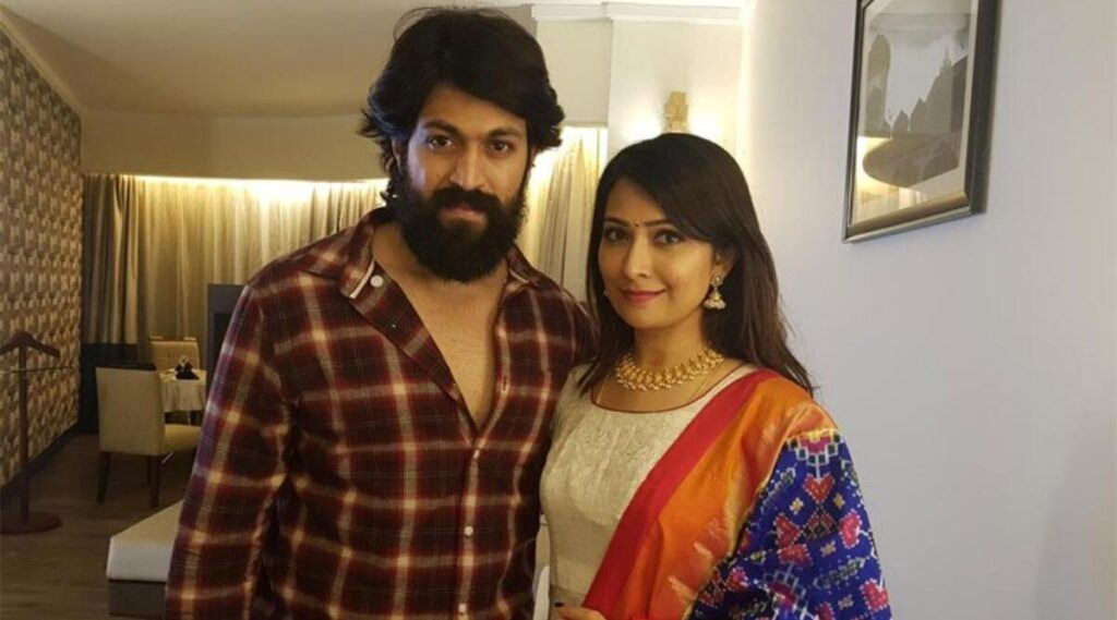 Tollywood couple Yash and Radhika Pandit give major couple goals 4