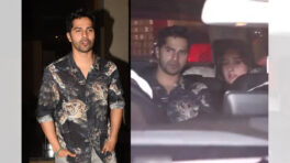 Varun Dhawan's car steps on a photographer's foot, actor steps out of his car to show concern