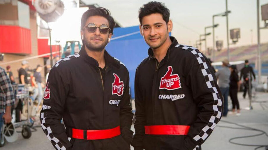 What a moment Ranveer Singh shooting with Mahesh Babu in Mumbai
