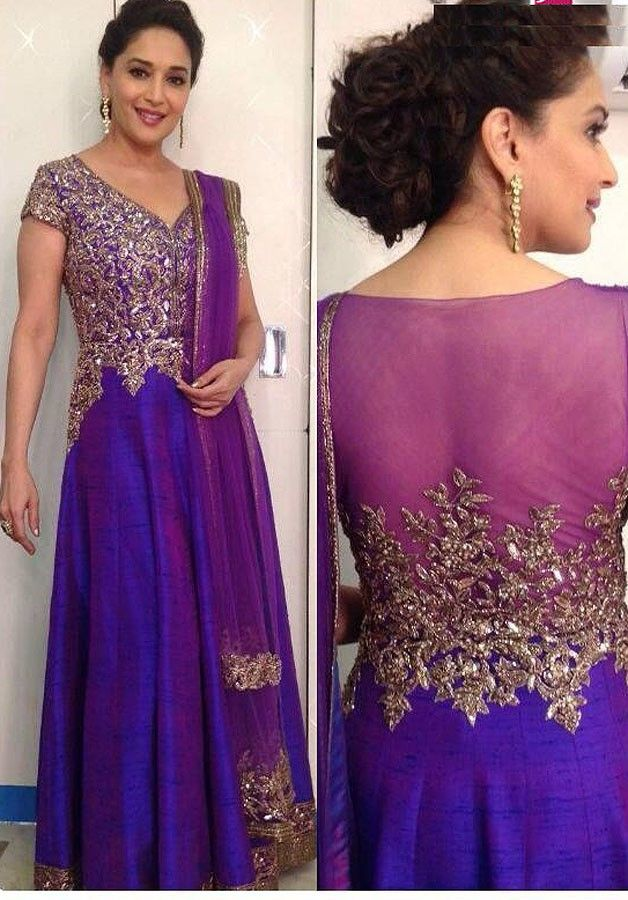 When Madhuri Dixit Nene looked absolutely gorgeous in a Manish Malhotra Anarkali 6