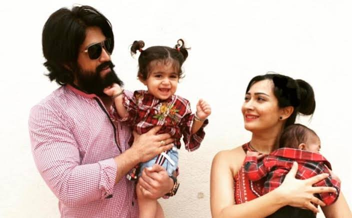 Yash and Radhika Pandit CUTE family pictures 3