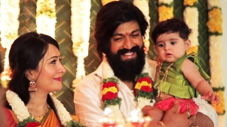 Yash and Radhika Pandit CUTE family pictures 4