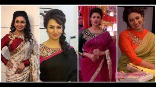 10 Amazing Divyanka Tripathi Blouse Designs To Steal For Your Lehenga or Saree!