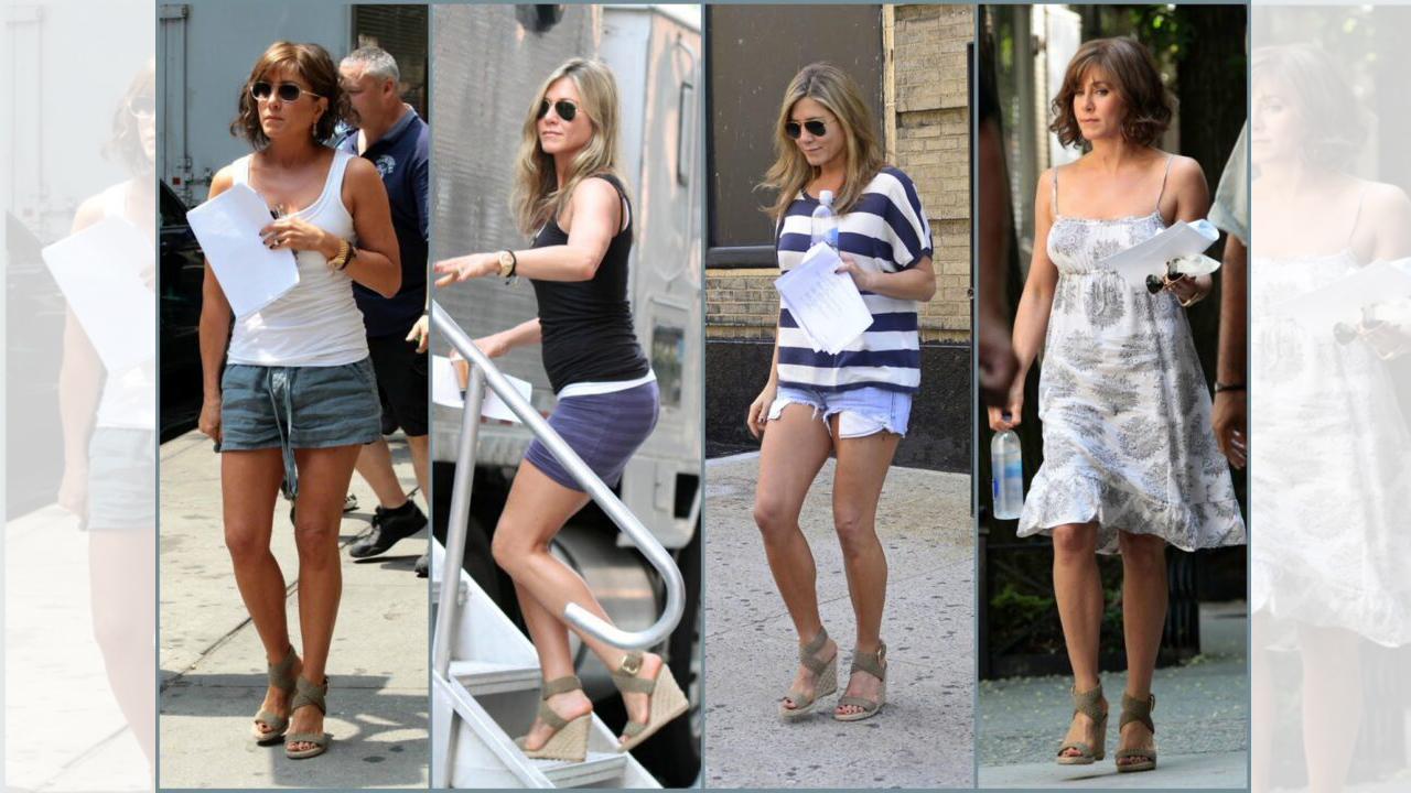 10 Jennifer Aniston's Casual Outfits To Keep Your Style On ...