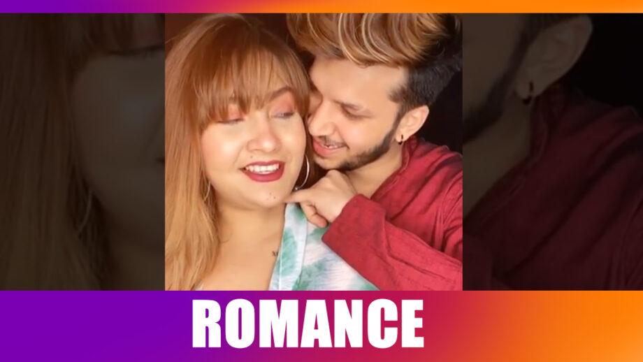 Aashika Bhatia ROMANCES with boyfriend Roshan