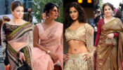 Aishwarya Rai Bachchan, Priyanka Chopra Jonas, Katrina Kaif, Vidya Balan: 10 Celeb-Inspired Unique and Eye-Catching Bridal Blouse Designs!