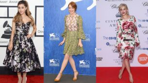 Ariana Grande Vs Emma Stone Vs Emilia Clarke: Who Carries Floral Outfit Better?
