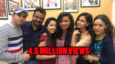 Bhavna Vyas and Rajan Shahi's Kameenkhori crosses 4.5 million views!