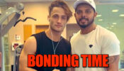 Bigg Boss contestants Asim Riaz and Sreesanth's bonding time