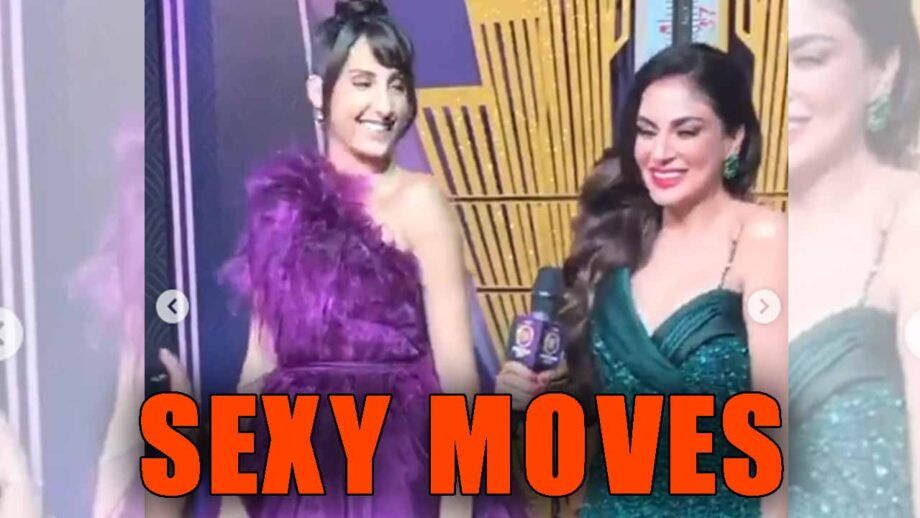 Check out Shraddha Arya and Nora Fatehi's sexy moves