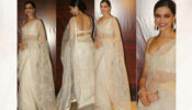 Deepika Padukone In Sequined Saree With Sexy Blouse, See Pics
