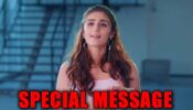 Dhvani Bhanushali has a SPECIAL message for you, watch video!