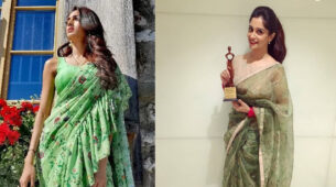 Erica Fernandes Vs Dipika Kakar: Who looked the prettiest in floral saree? 1