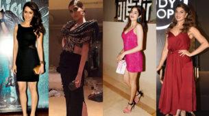 Get the 'party' look spot on like Shraddha Kapoor, Sonam Kapoor, Janhvi Kapoor and Jacqueline Fernandez