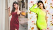 Green or Red: Arishfa Khan looks HOT in which outfit?