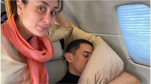Here's how Kareena Kapoor Khan caught an AWKWARD Aamir Khan sleeping on a flight