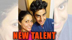 Hina Khan turns hair stylist