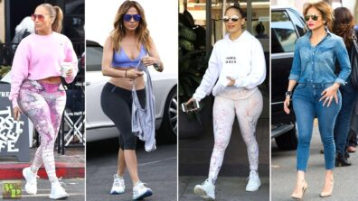 How Jennifer Lopez Makes Her Casual Looks More Glamorous? 4
