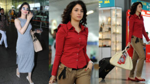 IN PHOTOS: Learn to get the airport look right like the hot Tamanna Bhatia
