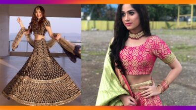 Jannat Zubair Ethnic Wardrobe Is Proof Shows Love for Lehengas; See Pictures