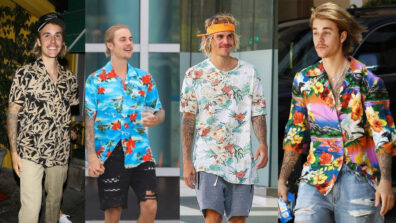 Justin Beiber Looks Sexy In These Floral Outfits 3
