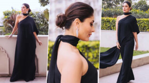 Kareena Kapoor sets the temperature soaring in a black outfit!
