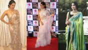 Kiara Advani Vs Jacqueline Fernandez Vs Jhanvi Kapoor: Who Carried Designer Saree Better?