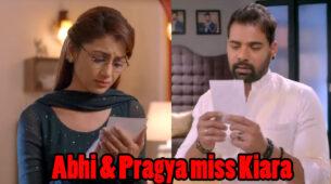 Kumkum Bhagya Written Episode Update 19th March 2020: Pragya and Abhi get emotional thinking about Kiara