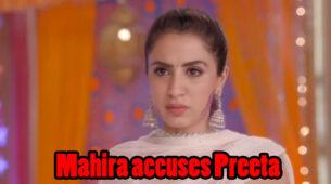 Kundali Bhagya Written Episode Update 16th March 2020: Mahira accuses Preeta of trying to kill Mahesh